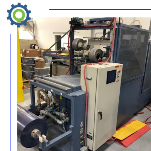 used roll feed inline thermoforming machines for sale