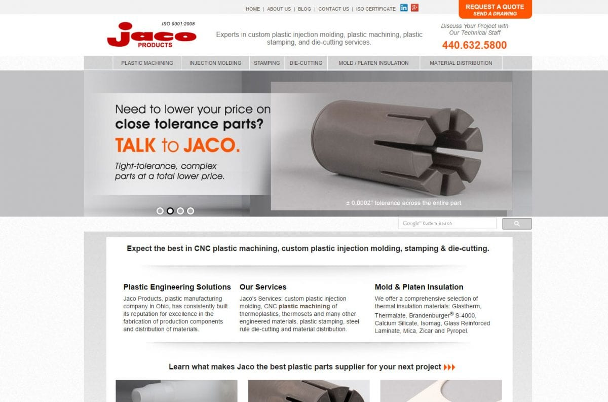 Machined Delrin   Benefits of Delrin   Delrin Machining   Jaco Products