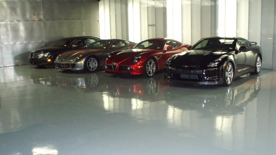 Commercial Epoxy Flooring | Ohio Garage Interiors