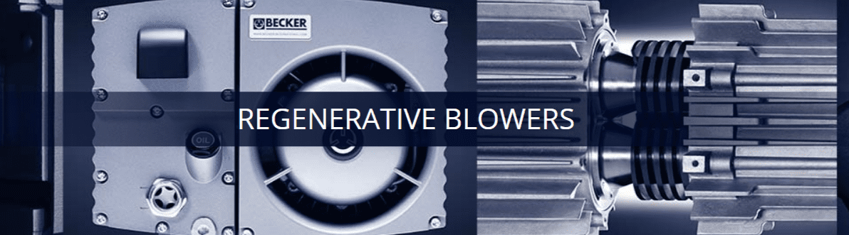 Regenerative Blowers | Becker Centralized Air Systems | Becker Pumps