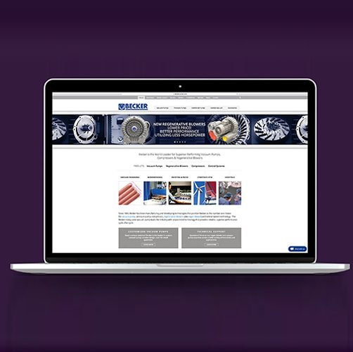 industrial web design company cleveland