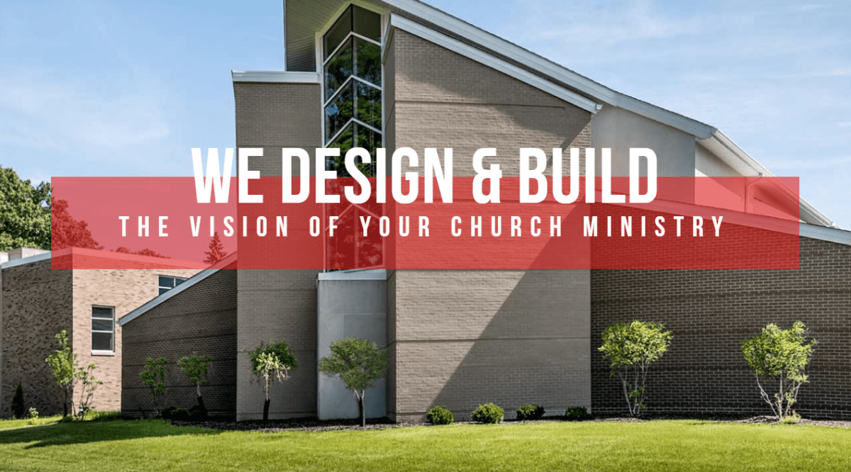 An example of a church built by Craven Construction, Church Builders Akron.