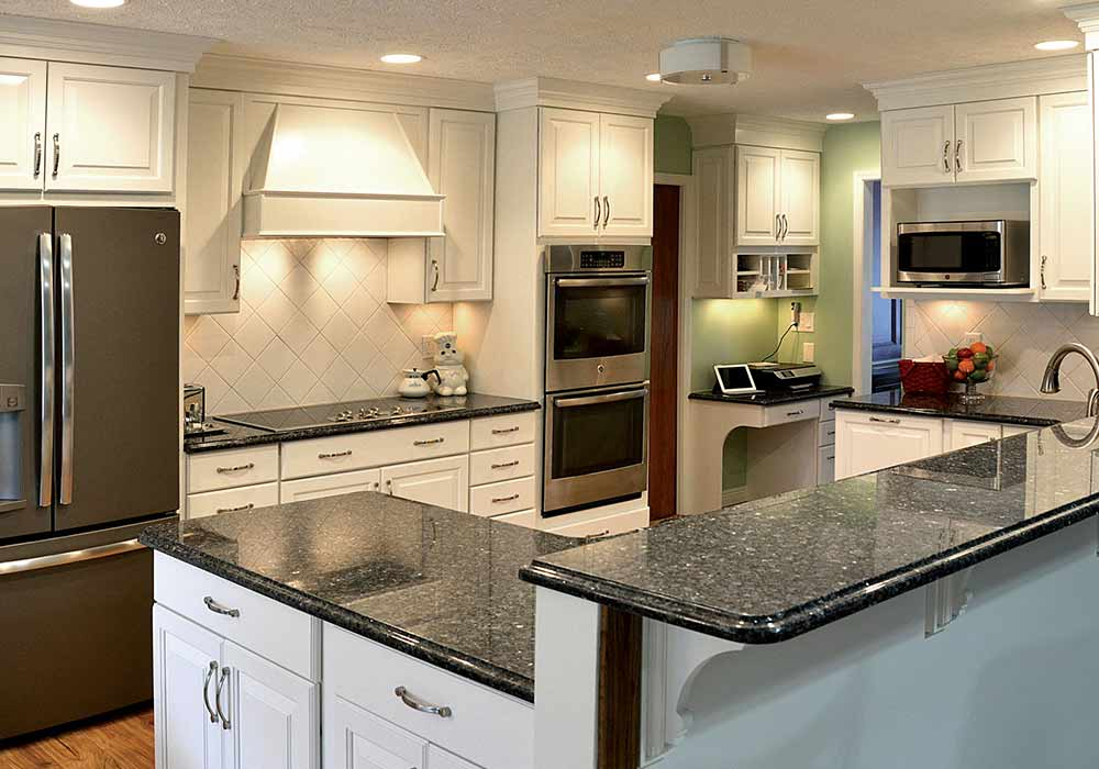 An example of a kitchen remodeled by one of Ohio's leading home remodeling companies, Home Sweet Home.