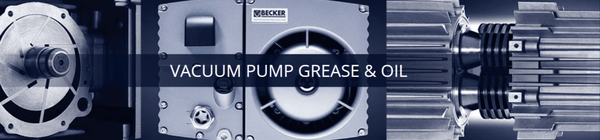Vacuum Pump Oil | Becker Pumps Corporation
