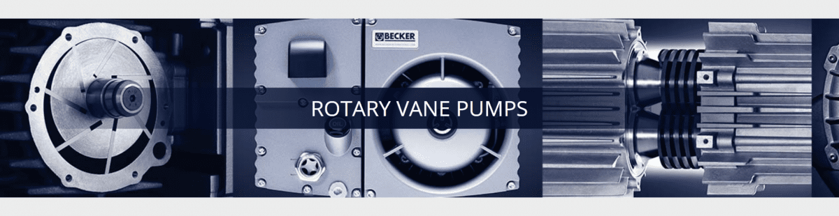 Rotary Vane Pumps | Becker Pumps of Canada