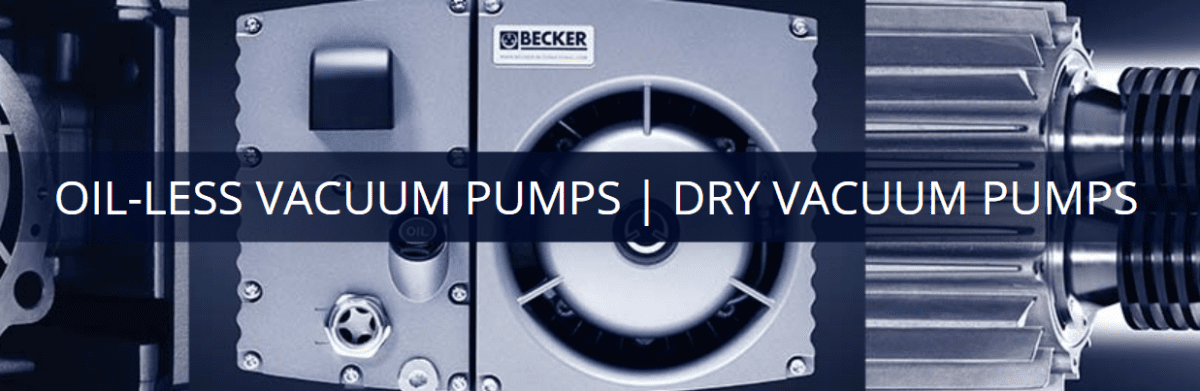 Dry Vacuum Pump | Becker Pumps