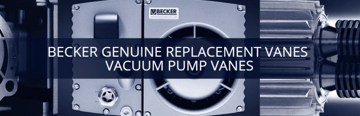 Vacuum Pump Vanes | Becker Pumps