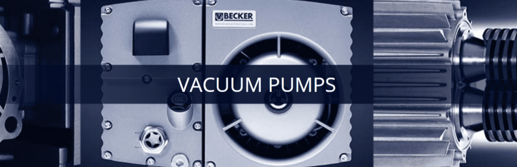 Vacuum Pump for Sale Canada | Becker Pumps of Canada