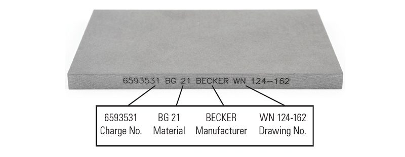 Becker | Genuine Replacement Vanes | Carbon Vacuum Pump Vanes