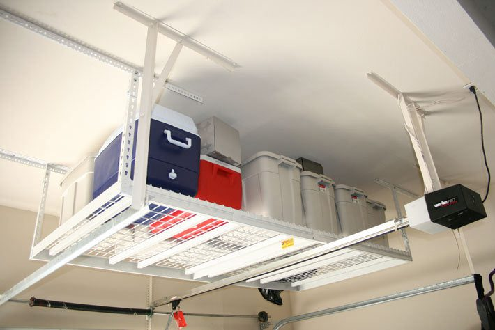 overhead garage storage by Ohio Garage Interiors