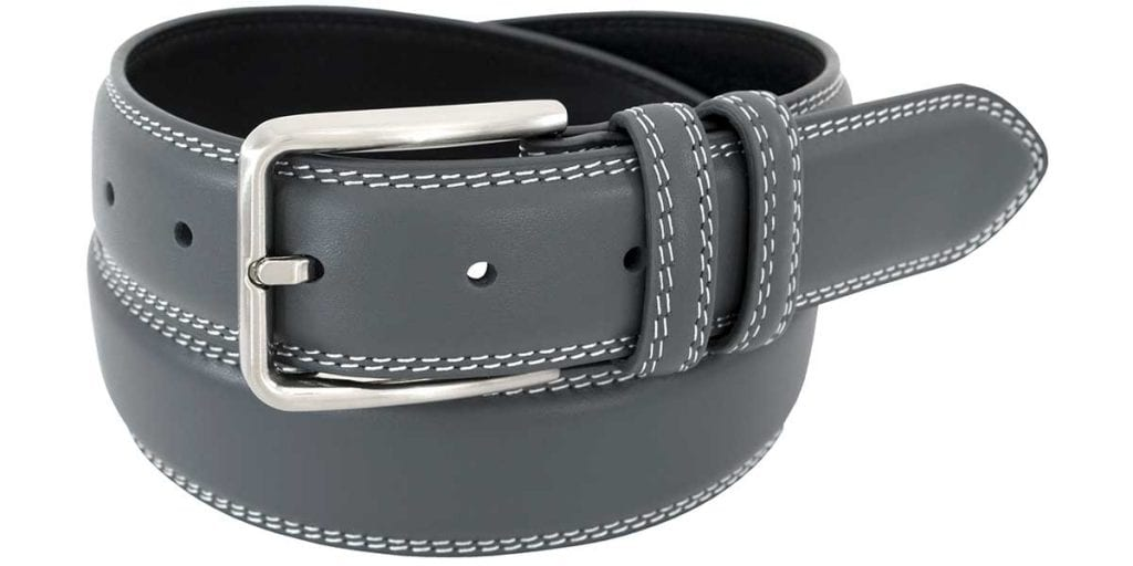 Mens Thick Leather Belt | Status Leather Goods