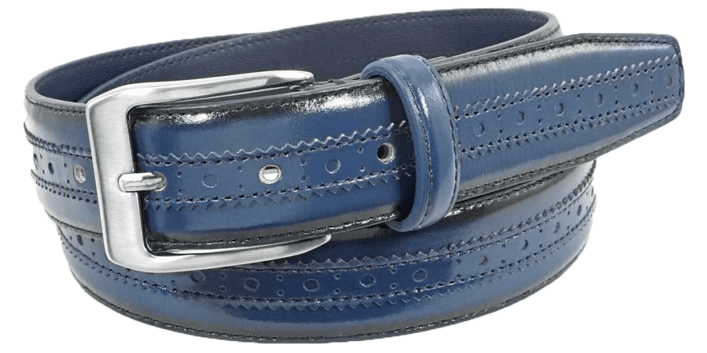 Men's Reversible Leather Belt | Status Leather Goods