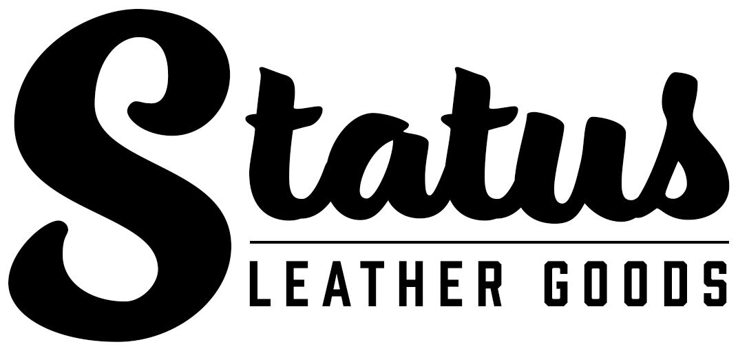 Men's Grey Leather Belt | Status Leather Goods