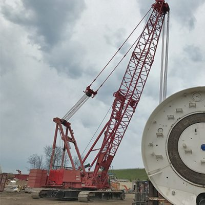 Crawler Crane Rental and Maintenance Services