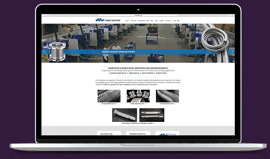 Premier Industrial Website Design Services From ADVAN