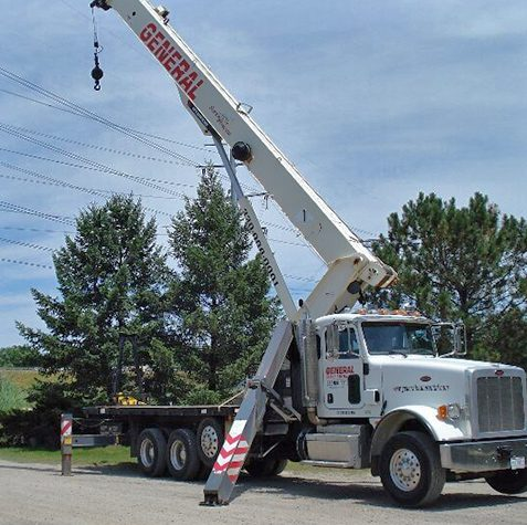 Boom Truck Rental Services From General Crane Rental, LLC