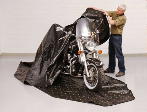 Zip Up Motorcycle Cover | Rust Prevention Solutions