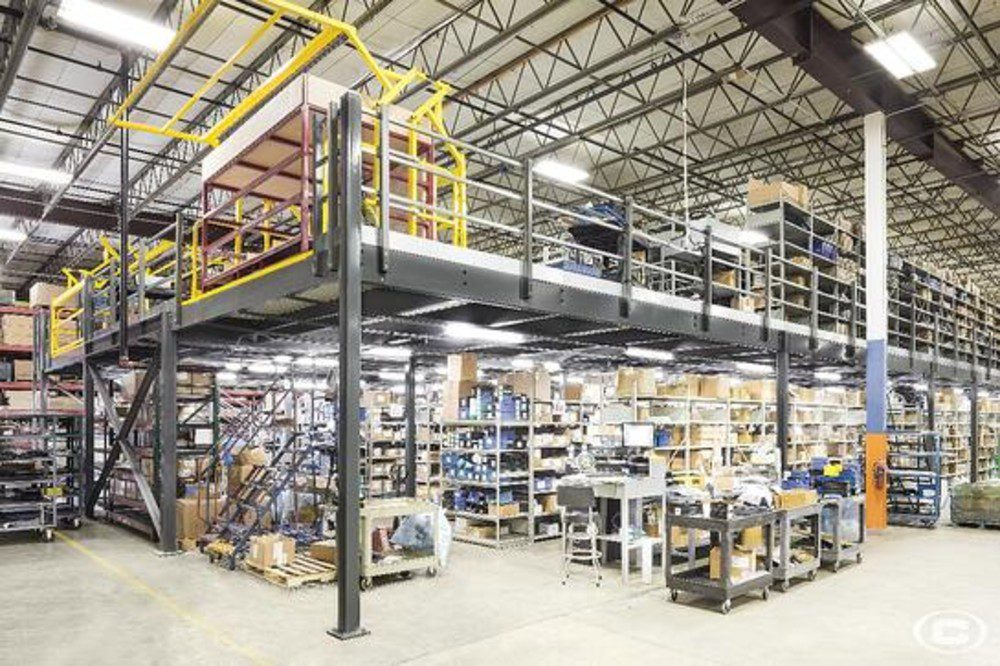Maximize Floor Space and Expand Skyward with a Structural Steel Mezzanine