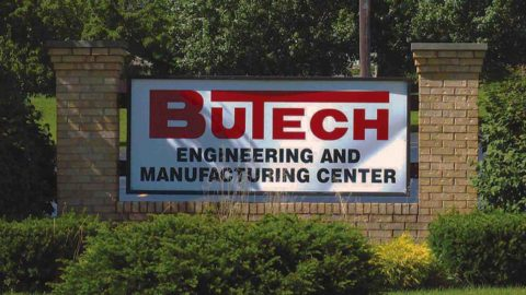 Butech Bliss Sign cut-to-length line facility