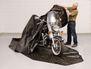 motorcycle rust prevention cover